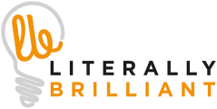 Logo for Literally Brilliant